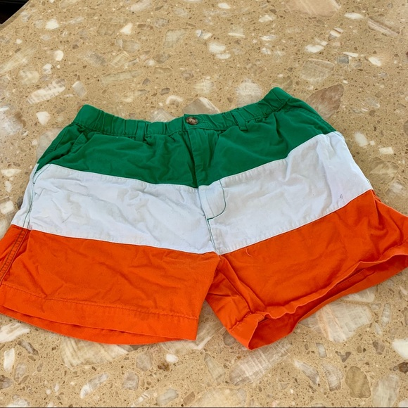 6d162897a chubbies Other - GUC Chubbies Irish Flag - St. Pattys Day Shorts L